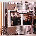 (suite) mini album scrap / portrait de famille / laura