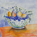 Nature morte (reproduction vlaminck)