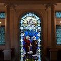 L'Eglise et la Foi, vitrail de Sèvres d'après Ziegler (1837)