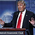Elections américaines: l'économie, la vraie chance de trump