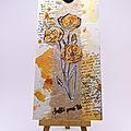 Carte coquelicots - Poppy card
