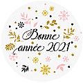 <b>Bonne</b> <b>année</b> 2021 - sous le soleil