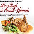 We culinaire place saint-gervais à avranches - samedi 11 et dimanche 12 octobre 2014