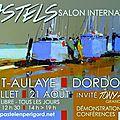 Salon international de pastel de saint aulaye - du 23/07 au 21/08/2016