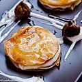Millefeuille à la crème d'amande et <b>figues</b>