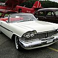 Plymouth belvedere convertible-1959