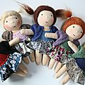 Mini poupées waldorf #2