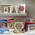 Cartes de vœux reçues merci les copines !!! / gratitude post for christmas cards and gifts received