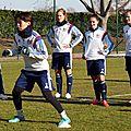 Ol : entraînement du 20 février