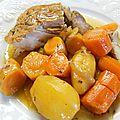 Rouelle de porc au miel et au cidre