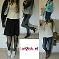 Lookbook #4 ♥ de l'hiver au printemps ♥