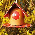 maison oeuf - deco pour pâques