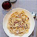 Pâtes aux saucisses italiennes de madame ciao