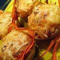 Muffins à l'orientale.