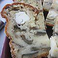 Cake aubergine & feta
