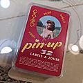 Ancien Jeu de 32 <b>Cartes</b> Pin-up Érotique Vintage 60's. Collection <b>Cartes</b> <b>à</b> <b>jouer</b>