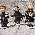 Harry Potter Ron et Hermione en <b>PAM</b>