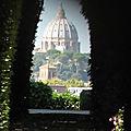 <b>Ripa</b> / Aventino : Jours tranquilles sur l'Aventin (2/7). Indiscrétion au prieuré des Chevaliers de Malte.