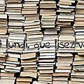 C'est lundi, que lisez-vous? # 187