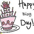 Bon anniversaire, mon blog !