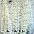 <b>Châle</b> <b>femme</b> blanc laine au crochet fait-main, <b>châle</b> blanc crochet en laine doux et chaud en * boutique