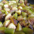 Soupe de figues à la lavande et au miel de bruyère