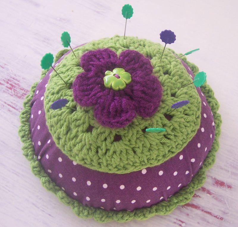 Pique-Aiguille violet et vert