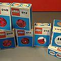 Suite de la présentation des <b>boîtes</b> <b>Lego</b> !