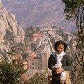 Une malgache au Montserrat -fatiguée de l'escalade