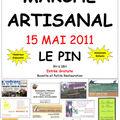 <b>Marché</b> Artisanal à Le Pin (38)