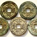 Annam (1740-1787) canh hung thong bao (shan-si on reverse)