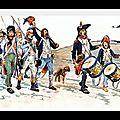 Belgique - luxembourg - 1794 - ravages exercés par les troupes républicaines
