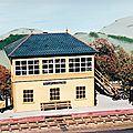 « Snowdonia » un <b>diorama</b> à l'échelle O réalisé en 1995.