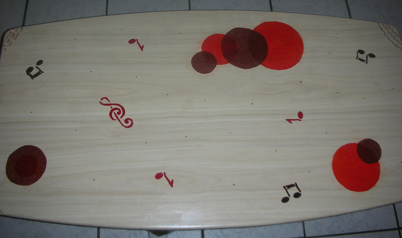 Table basse africaine