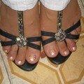 Des pieds de vietnamienne typiques!