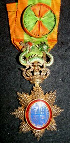Médaille officier civil du Dragon d'Annam,
