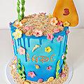 Drip cake Vaiana- Moana drip cake