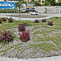 Rond-point à <b>Vila</b> <b>Nova</b> de <b>Gaia</b> (Portugal)