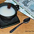 Café blanc libanais glacé