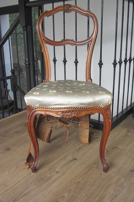 chaise à retapisser
