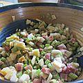 Salade de céleri branche