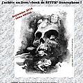 Le 1er septembre, j'achète un livre francophone SFFFH