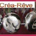 bracelet gris argent
