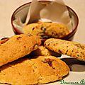 Cookies chocolat au lait, mm&s, chocolat blanc & noir