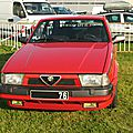 Alfa romeo 75 turbo (1986-1992)
