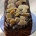 Minis cakes épicés aux amandes