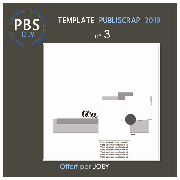 Template PBS 2019-3 - Freebie
