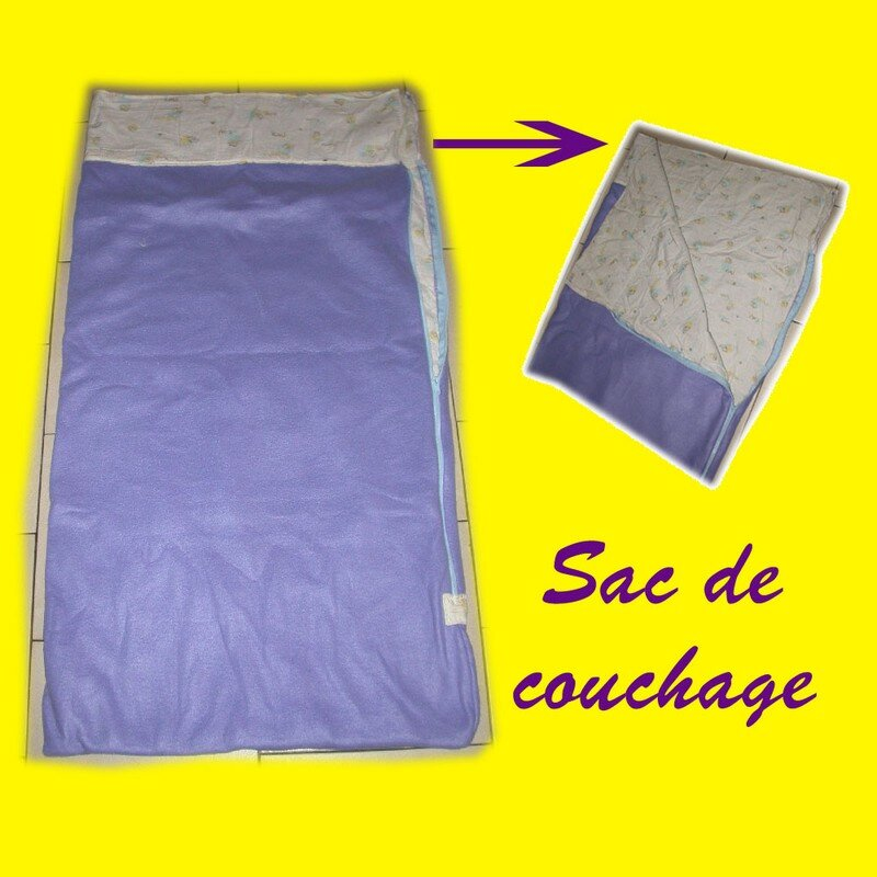 Sac de couchage version mini