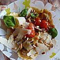Les raviolis aux tomates cerises de ma nico adorée