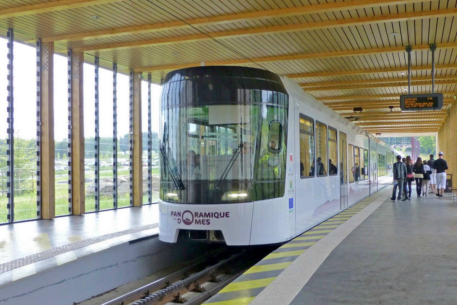 train panoramique du puy de Dôme